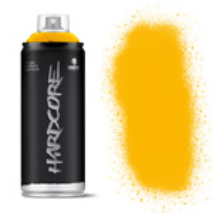 MTN Hardcore Spray Paint 400ml Luxor Yellow