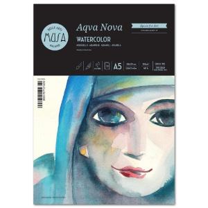 """Musa Aqva Nova Watercolor Pad A5 6"""" x 8.3"""""""