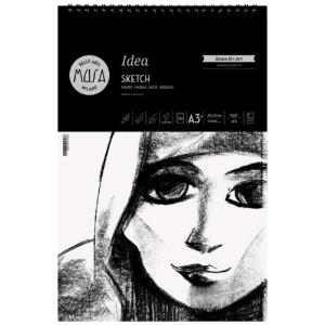 "Musa Idea Sketch Spiral A3 11.7"" x 16.5"""