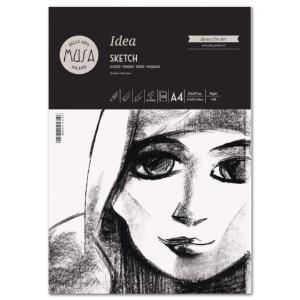 "Musa Idea Sketch Jumbo Pad A4 8.3"" x 11.7"""