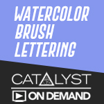 On Demand Class: Watercolor Lettering and Techniques with Shelly Kim