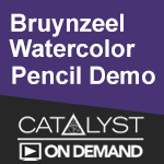 On Demand Class: Bruynzeel Watercolor Pencils and Van Gogh Watercolor
