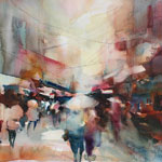 Online Class: Fresh and Loose Landscapes in Watercolor with Fealing Lin 11/5