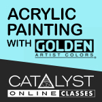 Class: Acrylic Painting with Golden 12/05