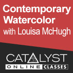 Class: Contemporary Watercolor with Louisa McHugh 02/18