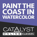 Class: Paint the Coast in Watercolor with Louisa McHugh 6/24