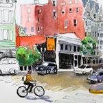 Online Class: Urban Sketching with Louisa McHugh 9/25