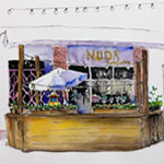 Live Online Class: Urban Sketching with Louisa McHugh 10/7