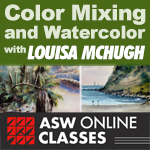 Class: Color Mixing and Watercolor with Louisa McHugh Series 11/05