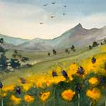 Class: Contemporary Watercolor with Louisa McHugh 2/4 - 2/25