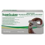 Super Sculpey Medium 1 lb Gray