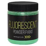 Fluorescent Powder Paint 0.5 lb Green