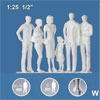 Schulcz Standing Figures Clear 6 Pack