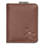 Sketch Wallet Small Leather Brown