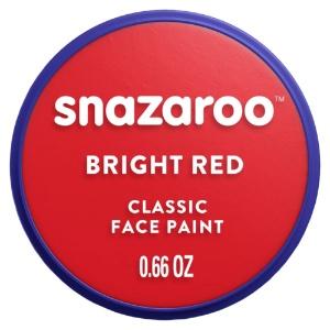 SNAZAROO 18ml BRIGHT RED