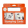 """Blank Stamping Cards 10pk, 5"""" x 6-7/8"""" - Smooth White"""