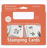 Strathmore Stamping Cards, Smooth White - 10 Pack