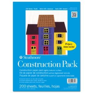 "Construction Paper Bulk Pack 9"" x 12"" (200 Sheets)"