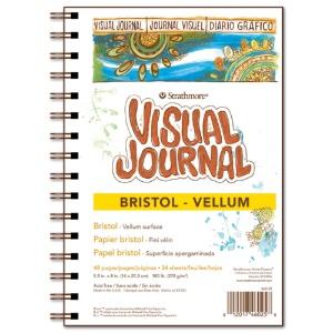 "Visual Journal, Vellum Bristol 5.5"" x 8"""