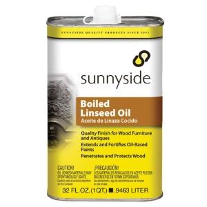 Sunnyside Boiled Linseed Oil 32oz