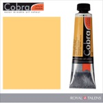 Cobra Water Mixable Oil Color 40ml Naples Yellow Deep