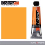 Cobra Water Mixable Oil Color 40ml Indian Yellow