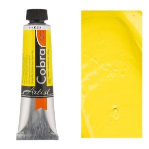 Cobra Water Mixable Oil Color 40ml Permanent Lemon Yellow