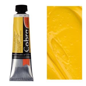 Cobra Water Mixable Oil Color 40ml Transparent Yellow Medium