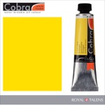 Cobra Water Mixable Oil Color 40ml Primary Yellow