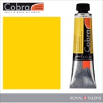 Cobra Water Mixable Oil Color 40ml Permanent Yellow Light