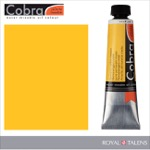 Cobra Water Mixable Oil Color 40ml Permanent Yellow Medium