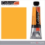 Cobra Water Mixable Oil Color 40ml Permanent Yellow Deep