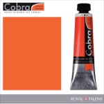 Cobra Water Mixable Oil Color 40ml Cadmium Red Light
