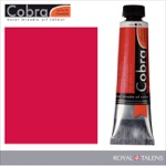 Cobra Water Mixable Oil Color 40ml Cadmium Red Deep