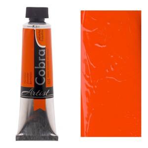 Cobra Water Mixable Oil Color 40ml Vermilion