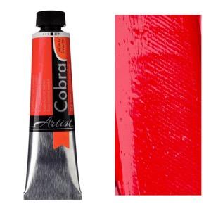 Cobra Water Mixable Oil Color 40ml Cadmium Red Medium