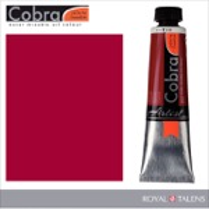 Cobra Water Mixable Oil Color 40ml Carmine