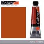 Cobra Water Mixable Oil Color 40ml Light Oxide Red
