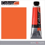 Cobra Water Mixable Oil Color 40ml Pyrrole Red Light