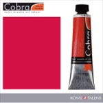 Cobra Water Mixable Oil Color 40ml Pyrrole Red Deep