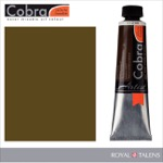 Cobra Water Mixable Oil Color 40ml Raw Umber