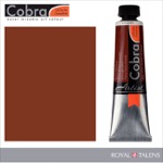 Cobra Water Mixable Oil Color 40ml Burnt Sienna