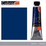 Cobra Water Mixable Oil Color 40ml Prussian Blue