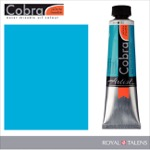 Cobra Water Mixable Oil Color 40ml Turquoise Blue
