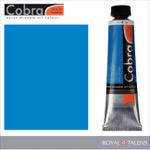 Cobra Water Mixable Oil Color 40ml Cerulean Blue
