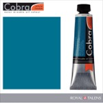 Cobra Water Mixable Oil Color 40ml Phthalo Turquoise Blue