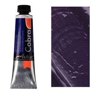 Cobra Water Mixable Oil Color 40ml Permanent Blue Violet