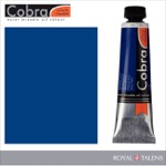 Cobra Water Mixable Oil Color 40ml Phthalo Blue