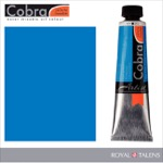 Cobra Water Mixable Oil Color 40ml Primary Cyan