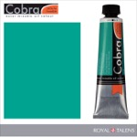 Cobra Water Mixable Oil Color 40ml Emerald Green